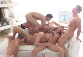 Orgie gay à Mykonos